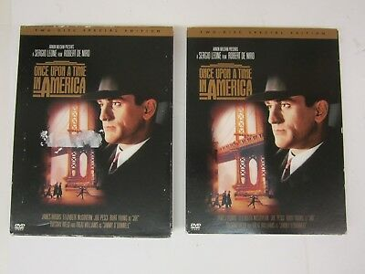 Once Upon a Time in America (DVD, 2003, 2-Disc Set, Special Edition 229-Minute