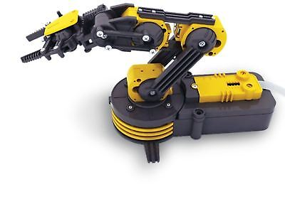 Build Your Own Robotic Robot Arm Self Assemble Construction Kit 5 motors