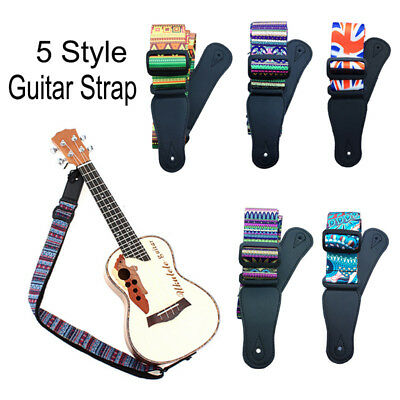 Fashion Personalized Guitar Strap Belt for Electric Acoustic Guitar Bass Ukulele