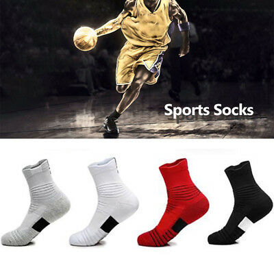 Outdoor Sports Combed Cotton Compression Socks Non-slip Male  1Pc Men Socks