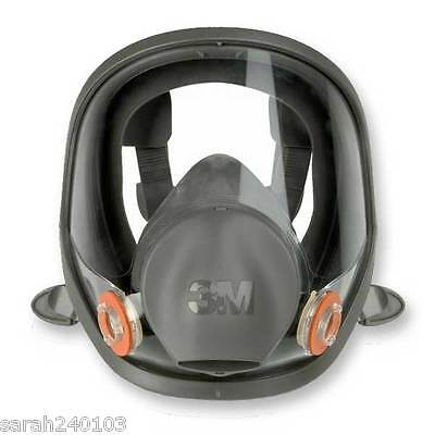 3M 6800 Medium Full Face Mask Respirator 6000 Series & FREE PAIR OF 2138 FILTERS