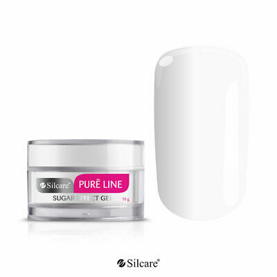Gel UV Pure Line Sugar Effect - Perfectly White - manufacturer SILCARE