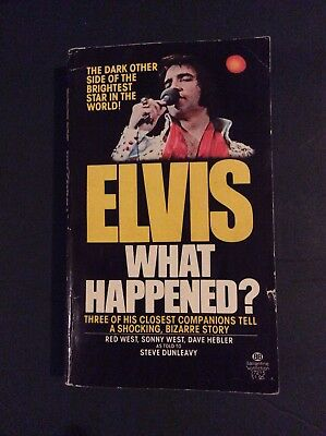 Elvis What Happened?-1st Edition Paperback 1977-Sonny West Insert Page-Rare!!!!
