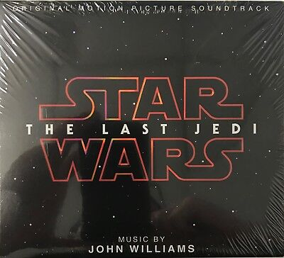 Star Wars : The Last Jedi - JOHN WILLIAMS (SOUNDTRACK) [CD-Digipak] New Sealed