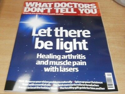 What Doctors Don't Tell You magazine Dec 2018 Healing Arthritis with lasers