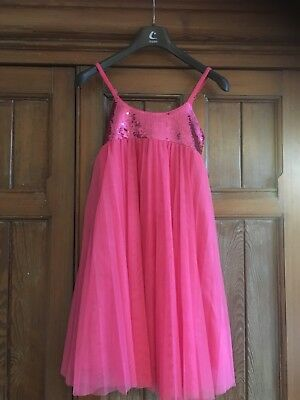 Miss Grant Pink Party Occasion Dress Girls Age 9 Size 36 RRP £159.99 VGC
