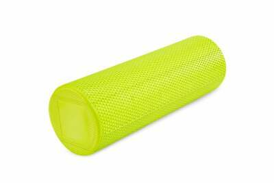 Foam Roller for Deep Tissue Muscle Massage and Yoga Pilates Exercises | Green