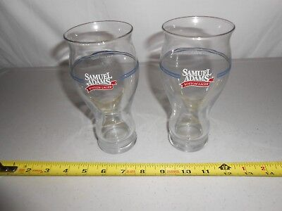 Set 2 Samuel Sam Adams Boston Lager Take Pride In Your Beer 16Oz Sensory Glasses