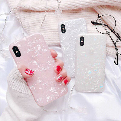For Samsung Galaxy S8 S9Plus S7 Marble Shockproof Silicone Soft Phone Case Cover