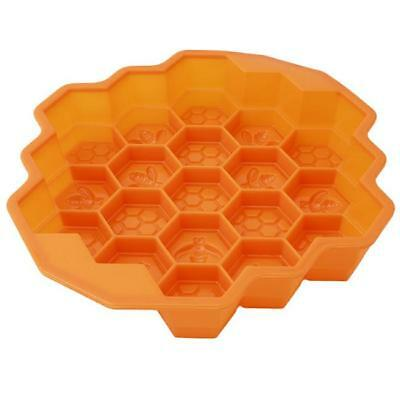 Bee Honeycomb Craft Silicone Soap Mold Candy Pastry Cake DIY Baking Mold LH