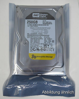 "Western Digital RE4 250GB Festplatte 3,5"" SATA II Cache 64Mb 7200rpm WD2503ABYX"