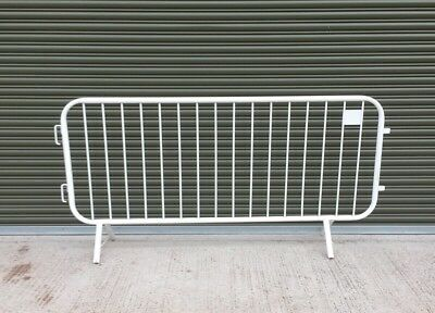 Smartweld Metal Crowd Site Control Barriers Fencing (88 Remaining) Inc Vat