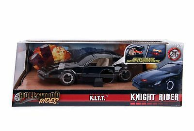 Jada Diecast Metal 1:24 Scale Hollywood Rides Knight Rider Kitt Car