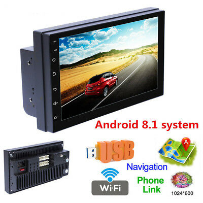 Android 8.1 Car Radio GPS Navigation Audio Stereo Car Multimedia MP5 Player 2DIN