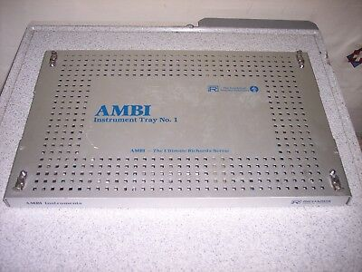 Richards AMBI Instrument Tray - Incomplete