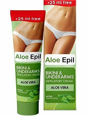 Aloe Epil Hair Removal Depilatory Cream Aloe Vera Bikini & Underarms 5469