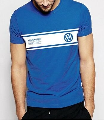 Vw T Shirts. Volkswagen T Shirt.vw Campervan. Mens Clothing