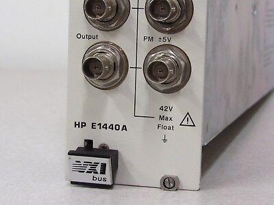 HP Hewlett Packard Agilent E1440A VXI 21MHz Synthesized Function/Sweep Generator