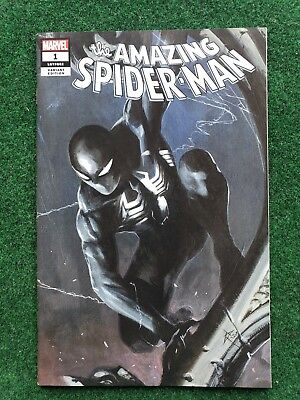 Amazing Spiderman 1 (2018) Gabrielle Dell Otto Sdcc Trade Dress Variant Vf/nm