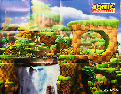 SONIC THE HEDGEHOG Poster Loot Gaming Crate BOSS BATTLE January 2018
