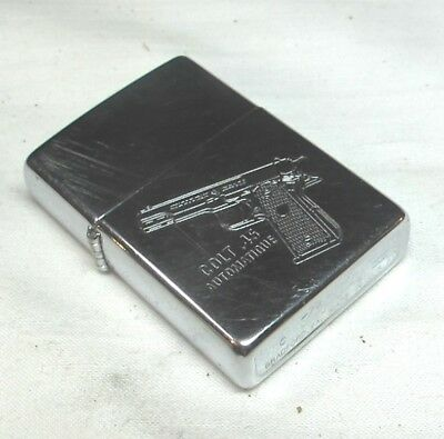 Colt 1911 .45 Automatique French Zippo Lighter Firearms Factory