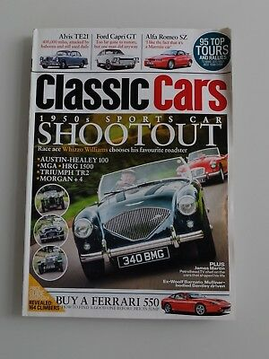 Classic Cars 02 2015 (englisch) 1950 s Sport Cars Austin Healy 100 MGA HRG 1500