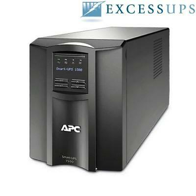 APC SMT1500 Smart-UPS 1500VA 980W New Batts, 1YrWrnty, FreeShip!