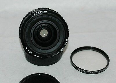 SMC PENTAX-A 28mm F2.8 Wide angle MF Lens K Mount