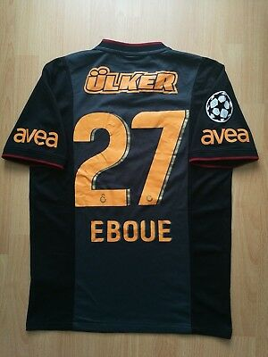 Eboue #27 Galatasaray Champions League Football Jersey Shirt Trikot Arsenal M