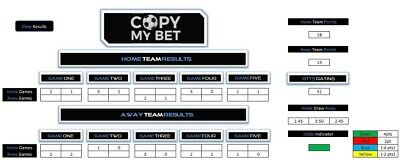 CopyMyBet - Both Teams to Score Betting Calculator | Football, Gambling Tool