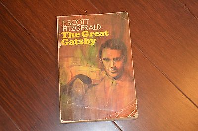 E98  The Great Gatsby By F. Scott Fitzgerald Paperback 1953