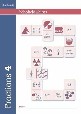 Fractions, Decimals and Percentages Book 4: Year 4, Ages 8-9