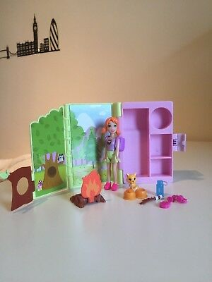 Boite Campement Foret Polly Pocket