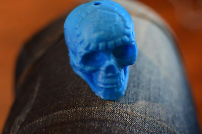 LOUD 3D PRINTED Aztec Death Whistle in Blue