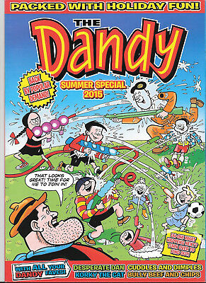 Dandy 2015  Summer Special 68 Pages # Softback # Beryl The Peril # Desperate Dan