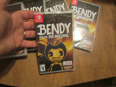 Bendy And The Ink Machine Nintendo Switch Excl. Gamestop Brand New Sealed