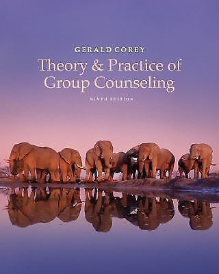 Theory and Practice of Group Counseling by Gerald Corey (2015, Hardcover)