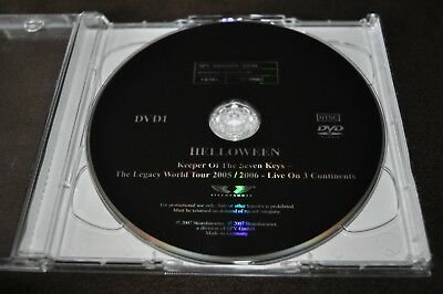 Helloween - Keeper Of The Seven Keys Legacy World Tour 2 DVD 2007 Promo Edition