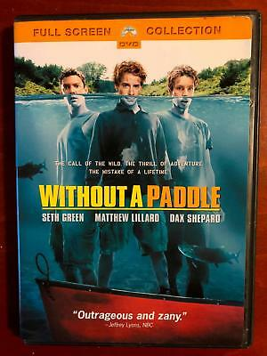 Without A Paddle (DVD, 2004, Full Screen) - E1125