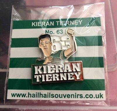 Celtic  Kt Badge On A  Backing Card   New