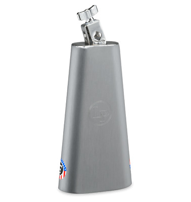 "LP BANDA COW BELL 10-1/2"" Brushed Steel LPBB105 Cencerro Campana"