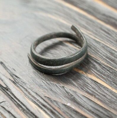Bronze Age Ring, Ancient Artifact c.1100-900 BC Authentic Artifacts, Spiraling