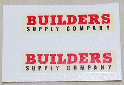 Matchbox 1-75 60a Morris Pick UP 'Builders' with black 'Supply Co' Decal (#290)