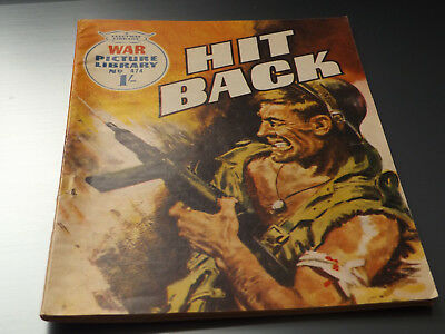 WAR PICTURE LIBRARY NO 474 !,dated 1968 !,GOOD for age,great 50 !YEAR OLD issue.