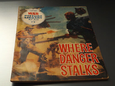 WAR PICTURE LIBRARY NO 213 !,dated 1963 !,GOOD for age,great 55 !YEAR OLD issue.