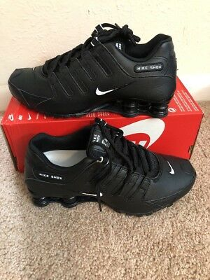 sale retailer bd136 39118 ... promo code new nike mens shox nz eu running shoes 501524 091 black  ba9ea 67d7f