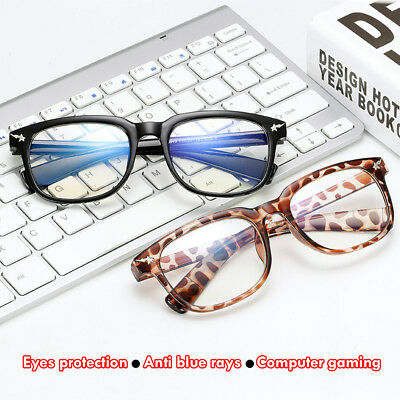 Anti Blue Ray Computer Goggles Blue Light Blocking Glasses UV-Eyeglasses