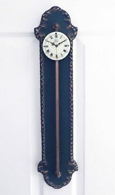 Vintage Anno 1750 Gravity Clock Made In Germany Cleaned Oiled Running!