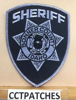 Bonner County, Idaho Sheriff Subdued (Police) Shoulder Patch Id