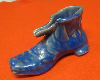 Rare Old Foley Pottery Boot Shoe Ashtray Saint John New Brunswick Canada